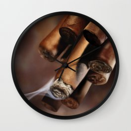 Cubans Wall Clock
