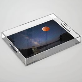 Super Blood Wolf Moon Acrylic Tray