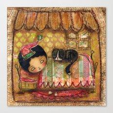 Sleep Tight My Darling One Canvas Print