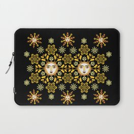 Snow Flake by ©2018 Balbusso Twins Laptop Sleeve