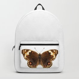 """Butterfly species Junonia orithya """"Eyed Pansy"""" Backpack"""