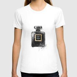 Perfume bottle fashion T-shirt