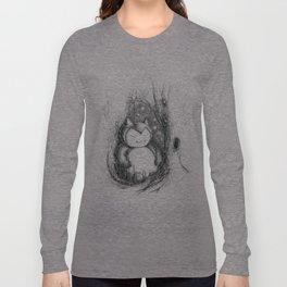 Snoozy Snorlax Long Sleeve T-shirt