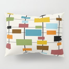 Mid-Century Modern Art 1.3 Pillow Sham