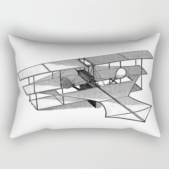 Aeroplane Rectangular Pillow