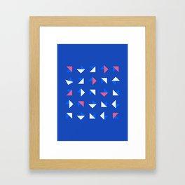 Geometrica - Color Study - 1/14/2019 - Graphic Art Print Framed Art Print