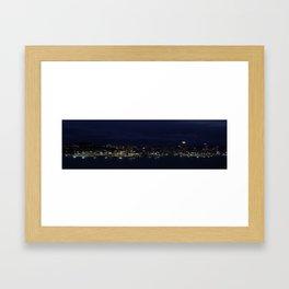 Dusky Auckland Framed Art Print