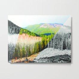 Clayoquot Sound Scenic Corridor Metal Print