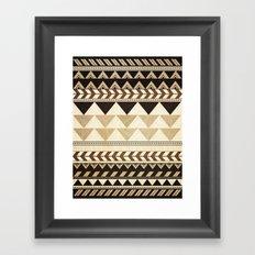 Woodwork Pattern Framed Art Print