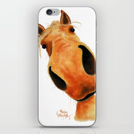 Happy Horse ' NuGGeT ' by Shirley MacArthur iPhone Skin