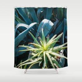 Aloe & Agave Shower Curtain