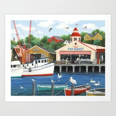 Pelican Bay Art Print