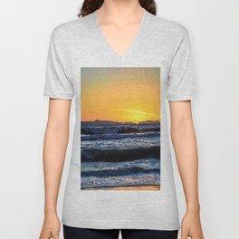 Catalina Sky - Surf City USA Unisex V-Neck