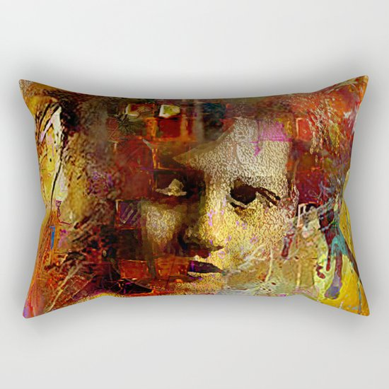 First time you looked at me Rectangular Pillow