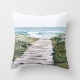 Path to my Heart Throw Pillow