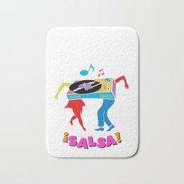 Salsa dance Bath Mat