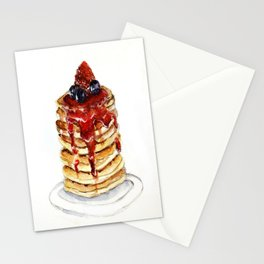 Berry Pancakes Stationery Cards