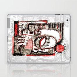 Red Dwarf - b&w Laptop & iPad Skin