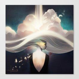 Cloudbreaker Canvas Print