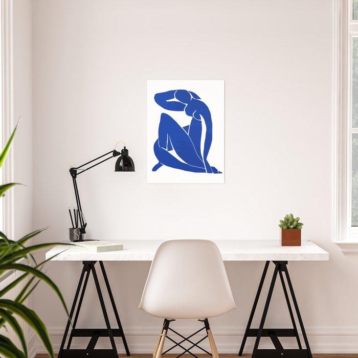 Henri Matisse - Blue Nude 1952 - Original Artwork Reproduction Poster
