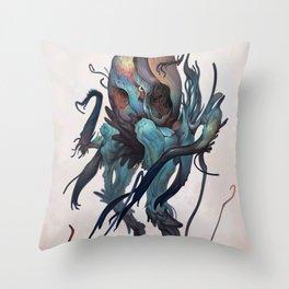 Cqueej Throw Pillow