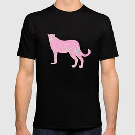 PINK STAR CHEETAH T-shirt