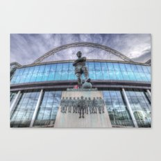 Booby Moore Statue Wembley Stadium Canvas Print