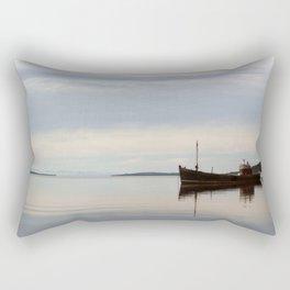 Old Fishing Trawler Rectangular Pillow