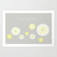 Flower Nursery Art Art Print