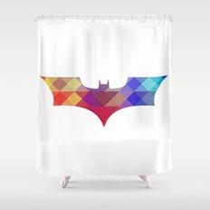 BAT MAN Retro -  Superhero / Comic Shower Curtain