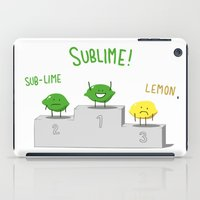 sublime iPad Cases featuring Sublime! by Caphastrotes