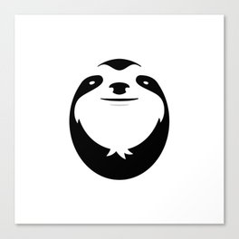 The Majestic Sloth Canvas Print