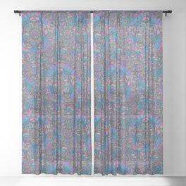 Kaleidoscope Sheer Curtain