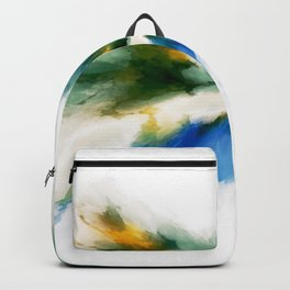 Serenity Abstract Backpack