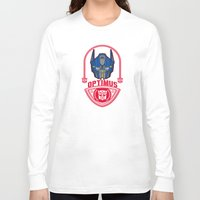 optimus prime Long Sleeve T-shirts featuring Optimus by Buby87