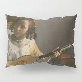 """Johannes Vermeer """"The Guitar Player"""" Pillow Sham"""