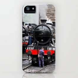 Stoking Up iPhone Case