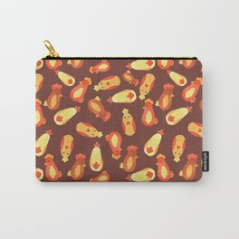 Autumn Chickens Carry-All Pouch