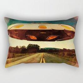 UFO Road Rectangular Pillow
