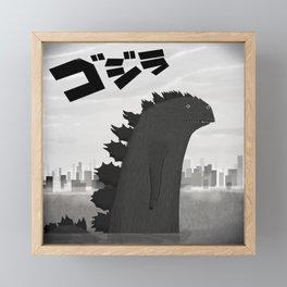 Big Fella Framed Mini Art Print