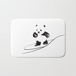 Surfing Panda Bath Mat