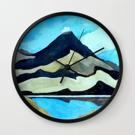 Tama Lakes Wall Clock