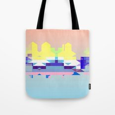 Summer City Tote Bag