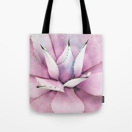 Pink Succulent Tote Bag