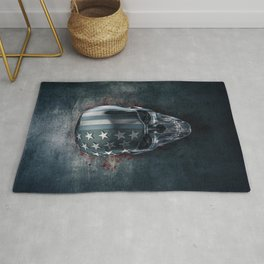 American Horror in Metal Rug