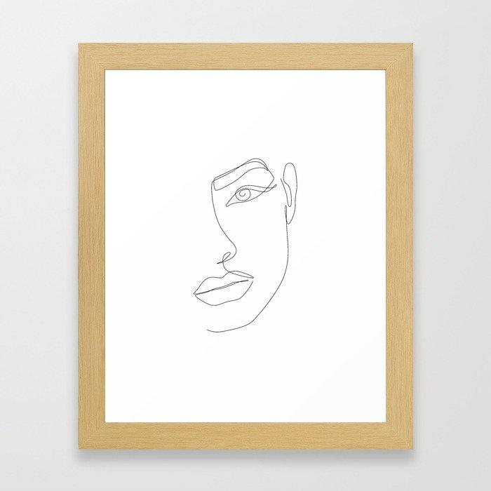 Eye Connection Framed Art Print