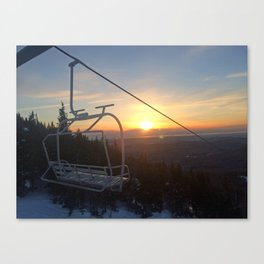 Last Chair of the Day Canvas Print