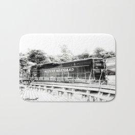 Train Bath Mat