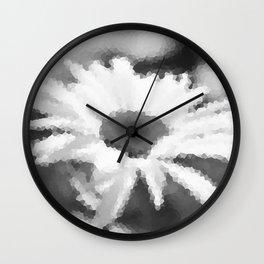 #Daisy #mosaic Wall Clock