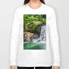 Summer Waterfall Long Sleeve T-shirt